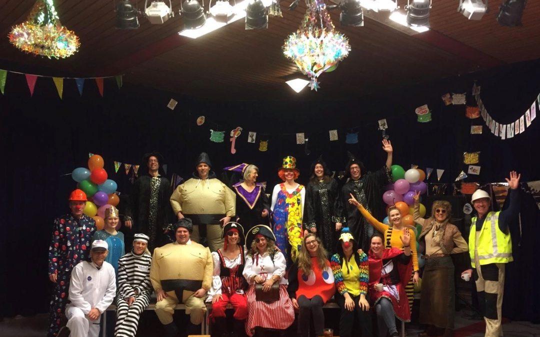 Geslaagd carnavalsfeest